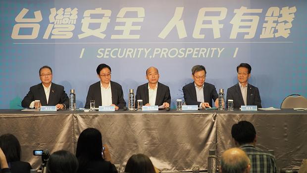 韩国瑜接受外媒访问谈香港问题 提出「反港独、双普选」方案