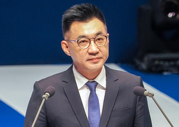 2020年9月6日,国民党主席江启臣:应持续推动两岸交往对话,避免冷战再现。(锺广政 摄)