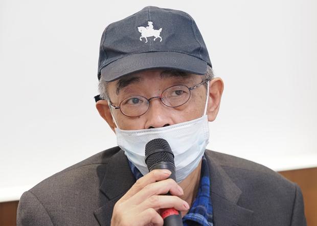 2020年4月29日,台湾铜锣湾书店店长林荣基:如不抓出泼漆案幕后黑手,案件将不了了之。(锺广政 摄)