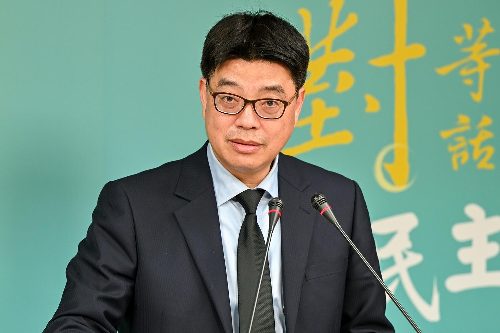 2021年6月16日,陆委会副主委邱垂正:台湾驻澳门办事处将继续运作,为澳门民众提供服务。(锺广政 摄)