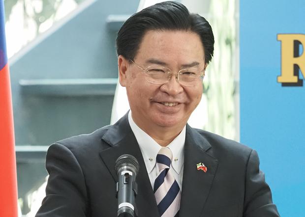 2020年9月9日,台灣外長吳釗燮:台灣與索馬利蘭都對自身主權自豪,也願意捍衛主權。(鍾廣政 攝)