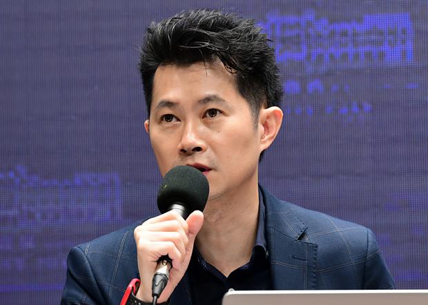 2020年6月19日,台灣行政院發言人丁怡銘:陸委會對求助港人進行個案處理,每種情況都有對應方式。(台灣行政院提供)