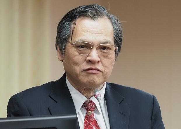 2019年12月5日,陸委會主委陳明通︰《港澳關係條例》中有處理港人申請庇護相關條文。(鍾廣政 攝)