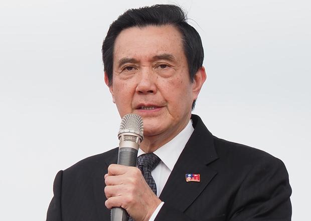 2020年1月1日,台湾前总统马英九︰《反渗透法》违宪、违法,完全没有程序的正义。(锺广政 摄)
