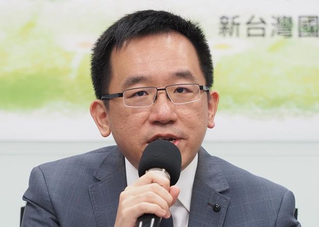 2020年5月7日,新国策智库执行长陈致中:蔡英文第二任期要维持高支持度并不容易。(锺广政 摄)