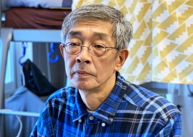 2020年5月29日,台灣銅鑼灣書店店長林榮基:希望蔡英文將港人在台停留簽證,從三個月延長到九個月。(鍾廣政 攝)