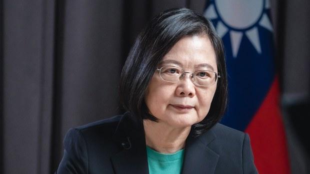 带领台湾成功防疫:蔡英文入选彭博全球50大人物