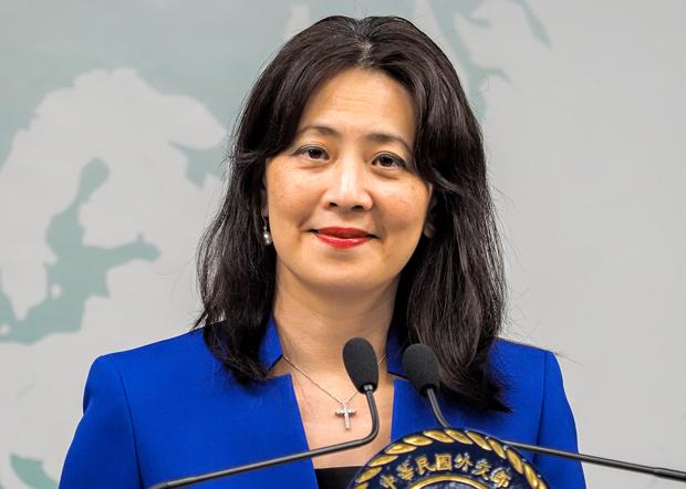 2020年7月3日,外交部發言人歐江安:考慮到台美關係升級成「全球合作夥伴」,決定重啟關島辦事處。(鍾廣政 攝)