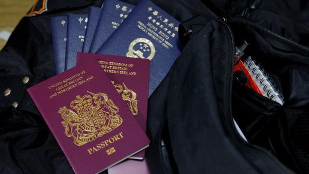 【港版美丽岛】两童无父母陪伴 抵达英伦寻求庇护