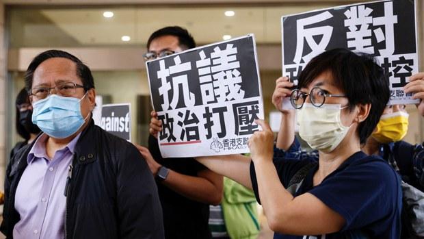 國際社會續譴責港府打壓民主    布林肯: 因涉政治指控被判刑不可接受