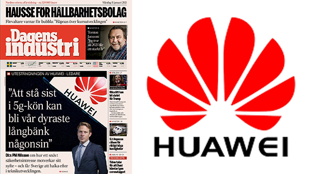 瑞典媒體撐愛立信要求解禁華為 評論批企業重利益輕國家安全