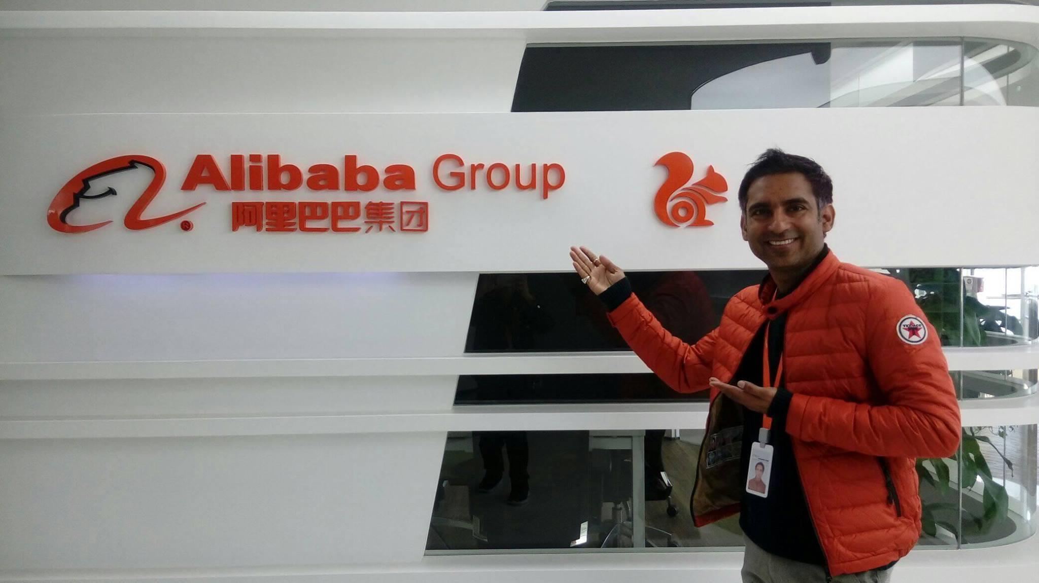 阿里巴巴旗下UC Web的前员工普什潘德拉·辛格·帕玛(Pushpandra Singh Parmar)在一起诉讼中表示,因其披露公司存在言论审查和虚假新闻遭解雇。 (帕玛脸书图片)