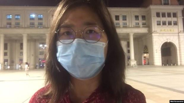冒險入武漢報肺炎真相 張展插鼻喉、輪椅出庭 被判4年