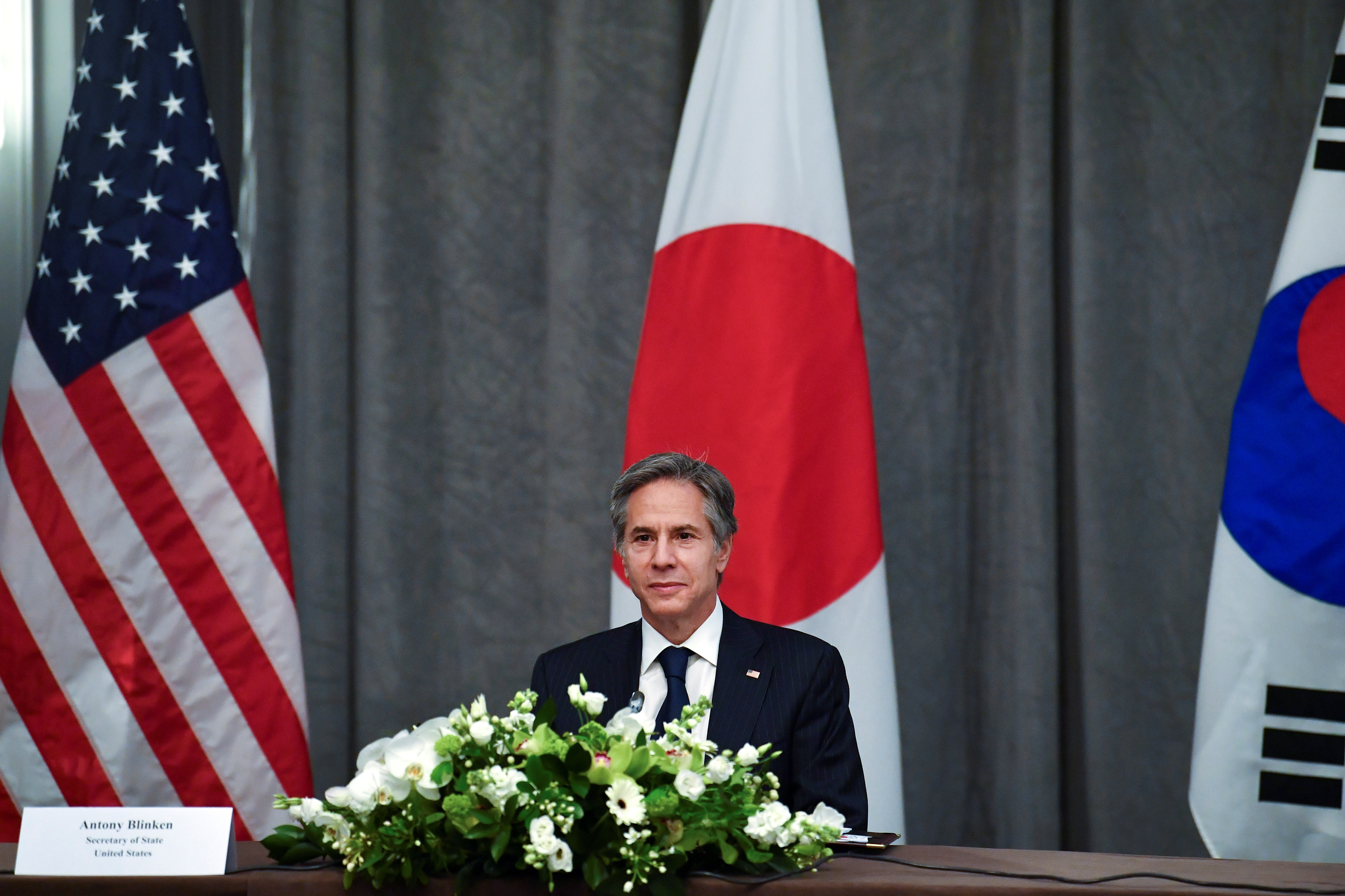 美国力促日韩修好,遏制中朝稳定东北亚局势。(路透社资料图片)