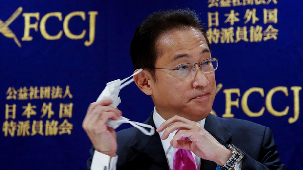 下任日本首相热门岸田文雄:若当选设新职处理人权及经济安保事宜