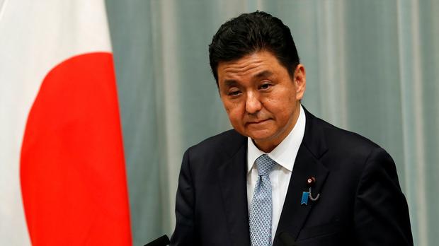 日本防衛相岸信夫:中國企圖單方面改變東海南海現狀