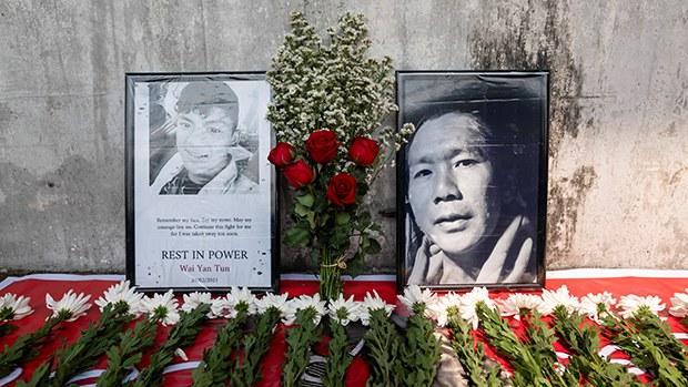 缅甸民众发起大规模悼念活动   多国谴责军政府血腥镇压