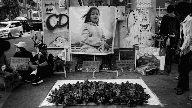 【缅甸抗争】花季少女头部中枪 留院10日不治成首名死者