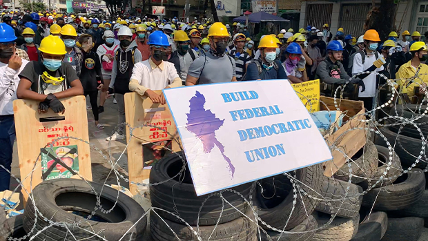 緬甸總統被加控兩項罪名 抗爭持續軍方強力鎮壓