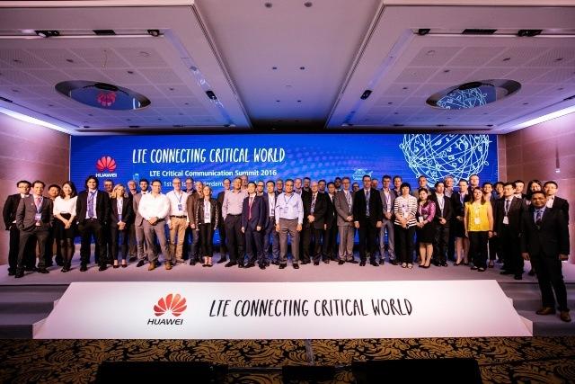 2016年6月,華為在荷蘭舉辦LTE(4G)通訊峰會。荷蘭皇家電信公司等早與華為開始設備或技術合作。(華為官網)