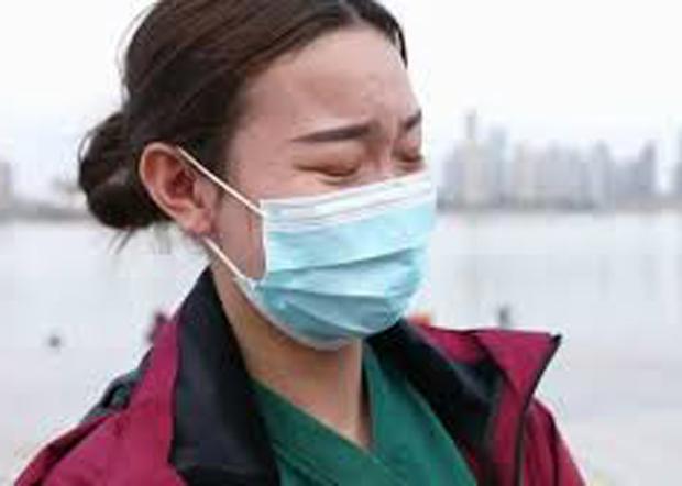 2020年2月,武漢疫情全面爆發後,作為民間志願者隻身增援武漢,于鑫慧曾感動了很多人。(于鑫慧資料圖片)