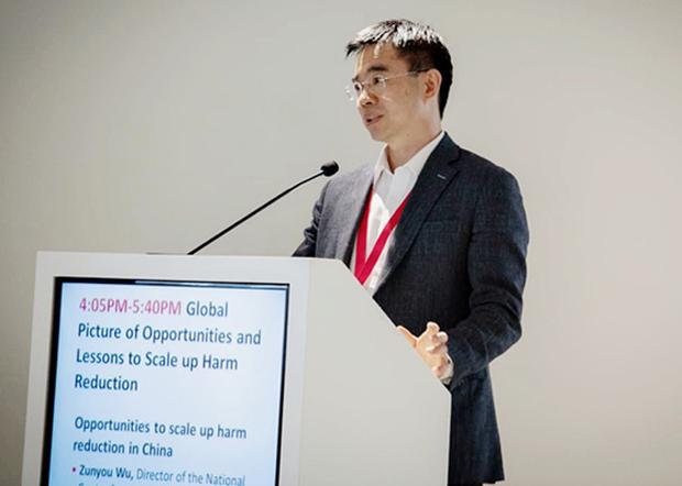 中國疾控中心首席流行病學專家吳尊友,將新一輪武漢肺炎病毒源頭甩鍋海外進口冷凍食品鏈。(中國疾控中心官網圖片)