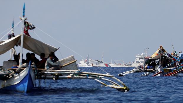 菲律宾抗议飞入南海遭中共无线电干扰