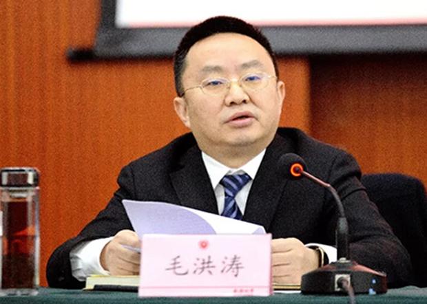毛洪濤在成都大學官方網站的圖片。(成都大學官網圖片 / 拍攝日期不詳)