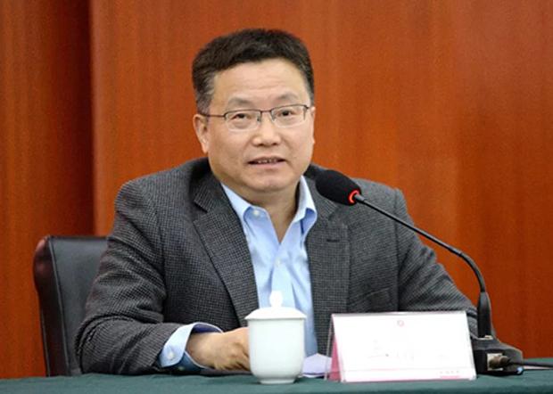 成都大學校長王清遠。(成都大學官網圖片 / 拍攝日期不詳)