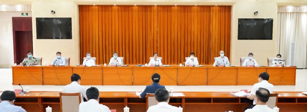 2020年7月3日,中央政法委书记郭声琨就政法系统整风吹风,其介入程度仍需观察。(中央政法委官网)