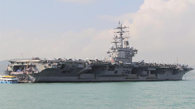 28架共機擾台破紀錄 美航母戰鬥群進南海 菲律賓續與美軍事協議