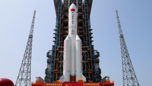 中國「長征五號」火箭失控 殘骸墜馬爾代夫外海