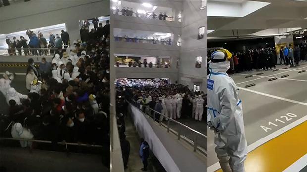 上海多地现新冠疫情 浦东机场一度封闭