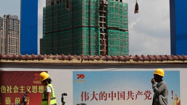 中国地产股因分拆计划突然暴跌 债券持有人成惊弓之鸟