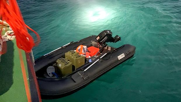 陸客聲稱投奔自由抵達台灣 獨駕橡皮艇橫渡海峽 專家質疑沒那簡單