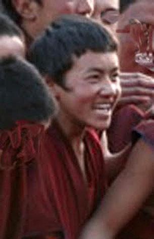 四川阿壩縣21歲格德寺僧人洛桑次成,8月6日在縣城自焚抗議,翌日凌晨在馬爾康縣醫院逝世。(唯色博客提供)
