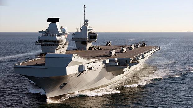 英國航母將啟印太之旅展示實力 共軍現蹤南海進行操演