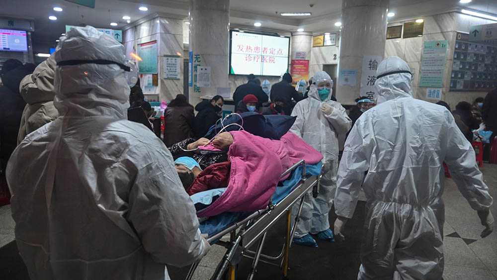 China's National Health and Medical Commission announced that a total of 2849 confirmed cases had been reported in 30 provinces, autonomous regions and municipalities, and the number of deaths had increased to 81, Jan. 26, 2020. (AFP)