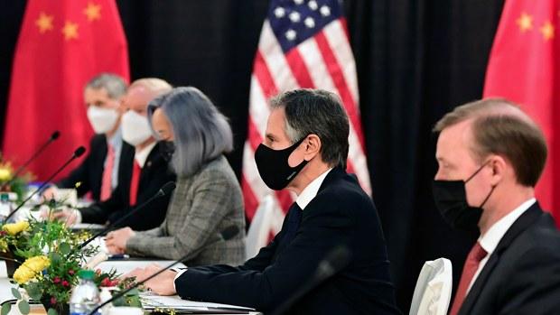 【中美会谈】杨洁篪开场白超时违外交礼节 布林肯发言「软中带硬」料获正评
