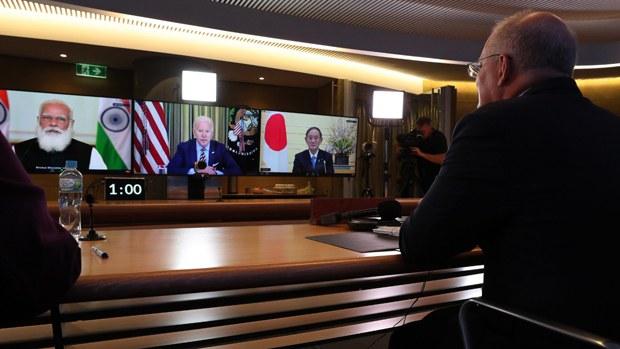 美日澳印四國高級官員視像會議 再顯共同對抗中國挑戰決心