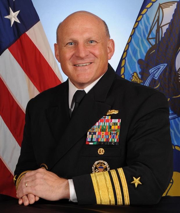 美国海军作战部长吉尔迪(图)近期下令制订「无人武器作战计划」。(资料图片)