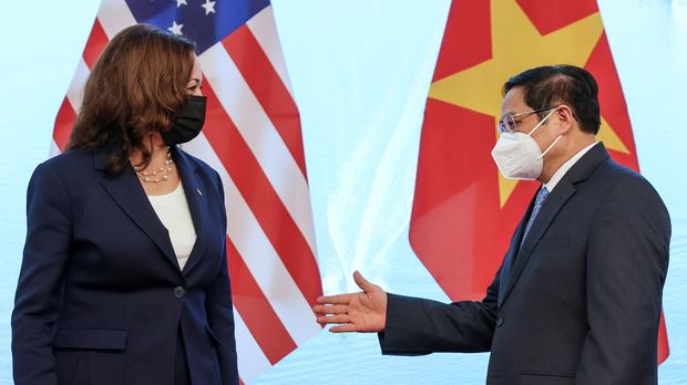 【賀錦麗訪越南】再批中共霸凌鄰國 強調須加大對華施壓
