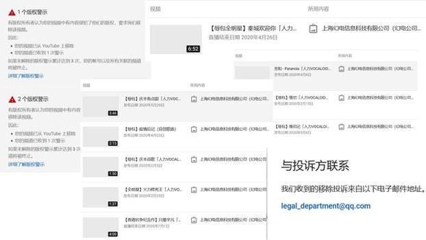 「乳透社」旗下「小反旗」「小池塘」頻道遭中國知名視頻網站嗶哩嗶哩(Bilibili)的實體運營公司——上海幻電信息科技有限公司投訴版權侵權。當事人批b站奉旨惡意舉報,意在阻止這兩家頻道舉辦的「辱包拜年祭」直播。 (網友提供)