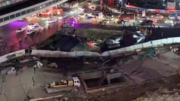 2周前才通过验收    厦门地铁突坍塌月台变泽国