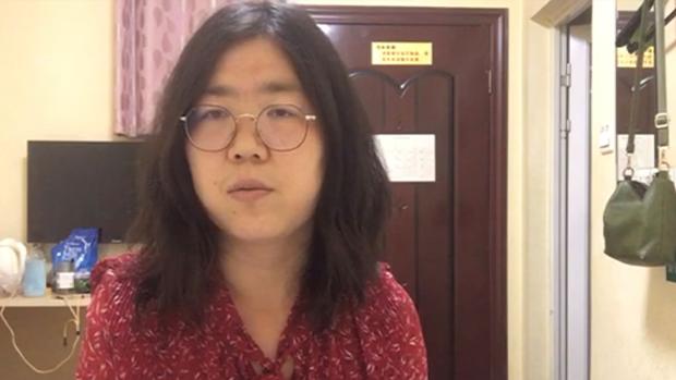 张展案移送法院起诉 中国人权律师团发声明谴责当局