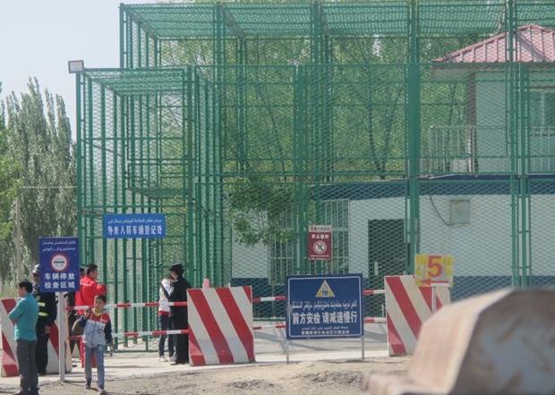 曾經關押過維權律師高智昇,現羈押張海濤的新疆沙雅監獄。(當事人獨家提供 / 拍攝日期不詳)