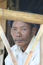 "This man has lived in the Mae La camp for 15 years. ""I have no future,"" he said. Photo taken in February, 2008."