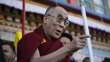 The Dalai Lama speaks upon his arrival in Arunachal Pradesh, India, Nov. 10, 2009.