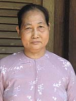 Le Thi Chim today. Two of her children were killed during the Tet offensive in 1968<br /> Photo: Dan Southerland