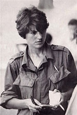 Undated photo of Kate Webb from early in her journalism career. Photo: AFP<br />